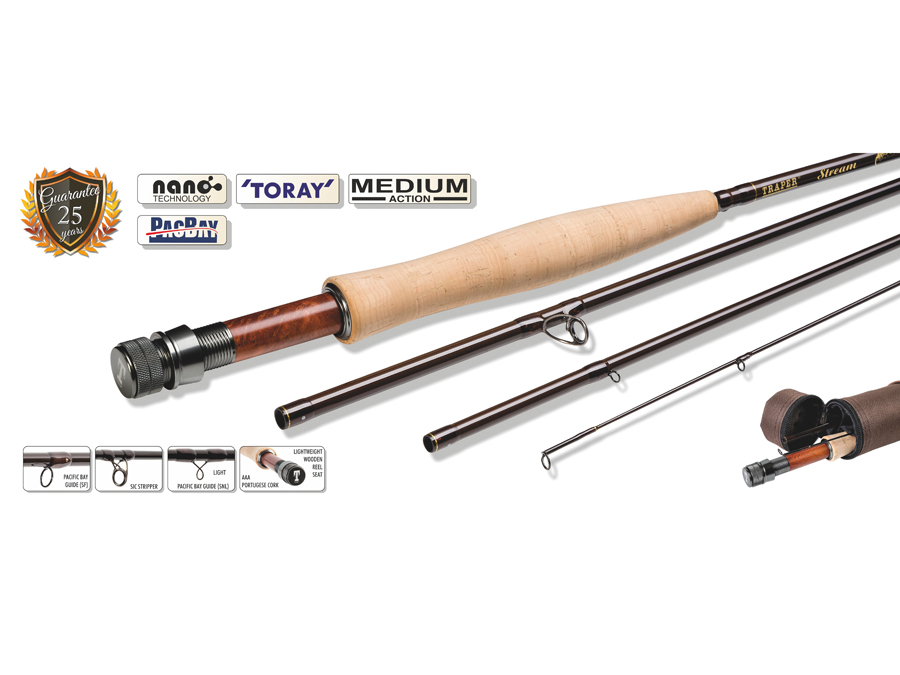 Fly rod Traper Stream